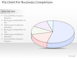 2502_business_ppt_diagram_pie_chart_for_business_comparison_powerpoint_template_Slide01
