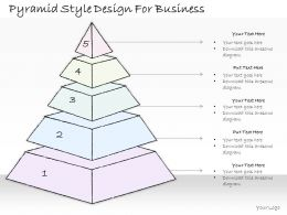 2502 Business Ppt Diagram Pyramid Style Design For Business Powerpoint Template