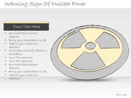2502 Business Ppt Diagram Warning Sign Of Nuclear Power Powerpoint Template