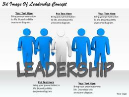 2513 3d Image Of Leadership Concept Ppt Graphics Icons Powerpoint