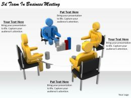 2513 3d Team In Business Meeting Ppt Graphics Icons Powerpoint