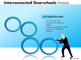 25 Interconnected Gearwheels Process