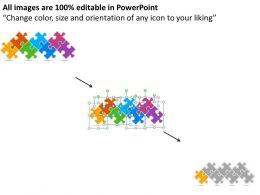 99234912 Style Circular Zig-Zag 7 Piece Powerpoint Presentation Diagram Infographic Slide
