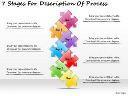 2613 Business Ppt diagram 7 Stages For Description Of Process Powerpoint Template