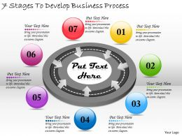 2613 Business Ppt diagram 7 Stages To Develop Business Process Powerpoint Template