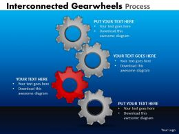 26 Interconnected Gearwheels Process