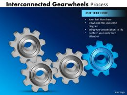 27 Interconnected Gearwheels Process