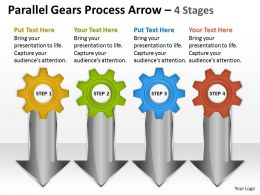 28 Parallel Gears Process Arrow 4 Stages