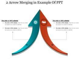 2 Arrow Merging In Example Of Ppt