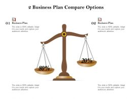 2 Business Plan Compare Options