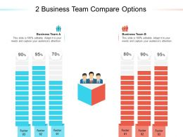 2 Business Team Compare Options