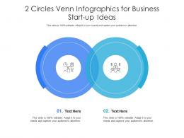 2 Circles Venn For Business Start Up Ideas Infographic Template