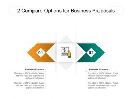 2 Compare Options For Business Proposals