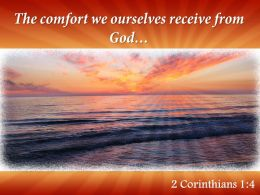 2 Corinthians 1 4 The Comfort We Ourselves Powerpoint Church Sermon