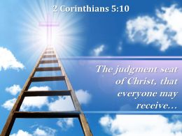 2 Corinthians 5 10 The Judgment Seat Of Christ Powerpoint Church Sermon