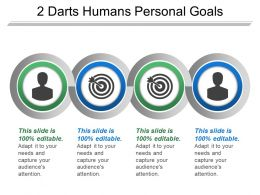 2 Darts Humans Personal Goals