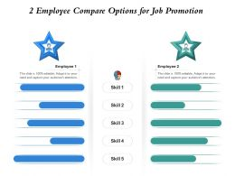 2 Employee Compare Options For Job Promotion