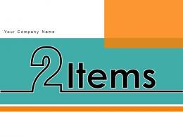 2 Items Comparison Business Planning Analytics Strategies Software