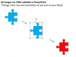 47149033 Style Puzzles Missing 1 Piece Powerpoint Presentation Diagram Infographic Slide