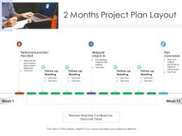 2 Months Project Plan Layout