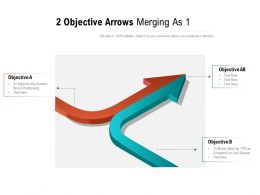 2 Objective Arrows Merging As 1