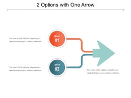 2 Options With One Arrow