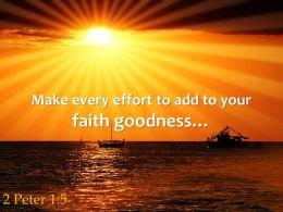 2 Peter 1 5 Make Every Effort To Add Powerpoint Church Sermon