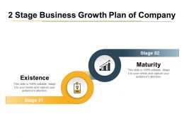 2 Stage Business Growth Plan Of Company