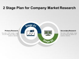 2 Stage Plan For Company Market Research