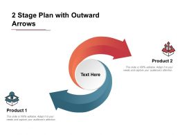 2 Stage Plan With Outward Arrows