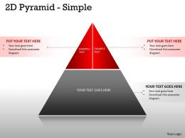 2 Staged 2D Pyramid Design