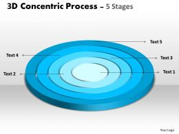 2D Concentric Process 5 Stages Business