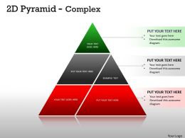 2D Pyramid Complex Design For Marketing