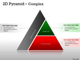 2D Pyramid Complex Design With 2 Stages