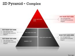 2D Pyramid Complex Design With 4 Stages