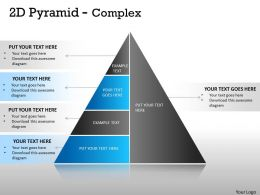 2D Pyramid Complex Design With 5 Stages