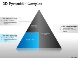 2D Pyramid With Complex Design