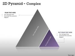 2D Pyramid With Two stages