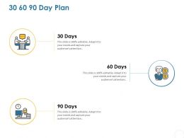 30 60 90 Day Plan C1218 Ppt Powerpoint Presentation Graphics
