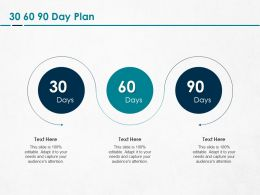 30 60 90 Day Plan Management L1263 Ppt Powerpoint Presentation Slide