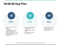 30 60 90 Day Plan Ppt Powerpoint Presentation Diagram Graph Charts