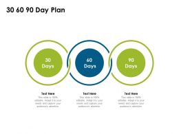 30 60 90 Day Plan Timeline Ppt Powerpoint Presentation Background Designs