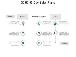 30 60 90 Day Sales Plans Ppt Powerpoint Presentation Portfolio Slideshow Cpb