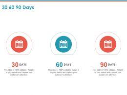 30 60 90 Days A810 Ppt Powerpoint Presentation Ideas Design Ideas