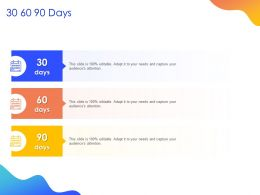 30 60 90 Days M120 Ppt Powerpoint Presentation Model Show