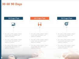 30 60 90 Days M36 Ppt Powerpoint Presentation Infographics Files