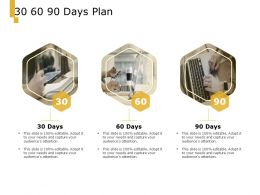 30 60 90 Days Plan A1000 Ppt Powerpoint Presentation Professional Templates