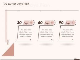 30 60 90 Days Plan A1015 Ppt Powerpoint Presentation Icon Graphics Tutorials