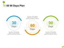 30 60 90 Days Plan A1244 Ppt Powerpoint Presentation Styles Ideas