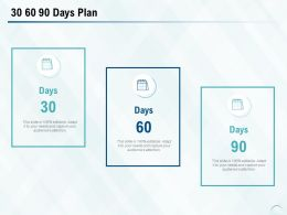 30 60 90 Days Plan A803 Ppt Powerpoint Presentation Styles Graphics Example